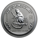 Perth Mint Silver (2004 Monkey Coins) (Series 1)